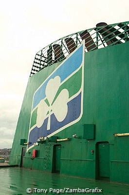The Ireland ferry, no doubt about it!