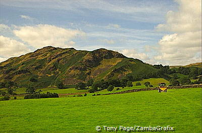 The Lake District provides endless scenic views The Lake District - England