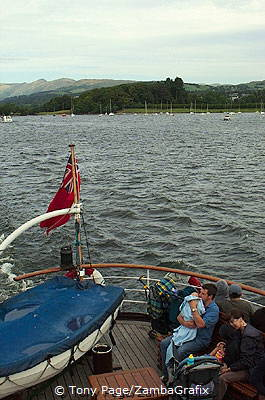 Lake Windermere is England's largest mere
