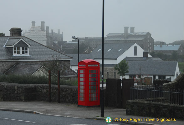 A cold foggy morning in Princetown