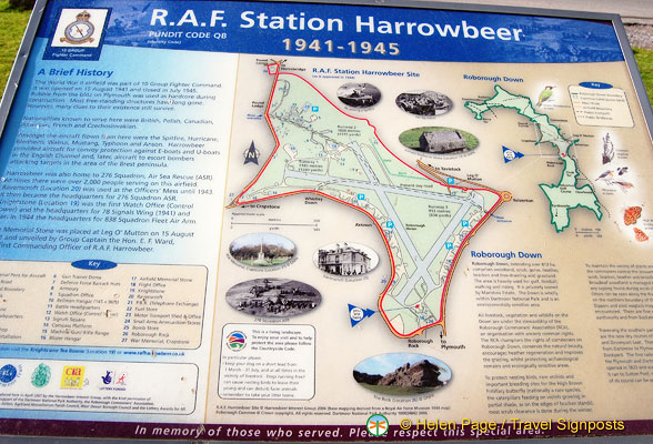 About the former RAF Station Harrowbeer in the parish of Buckland Monachorum