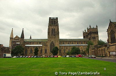 Durham cathedral was treated as an experiment by architects for geometric patterning [Durham - England]