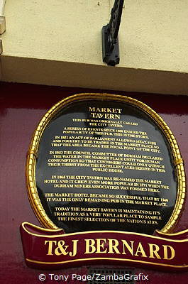 Story of the Market Tavern [Durham - England]