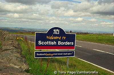 The Scottish Border [Scotland]