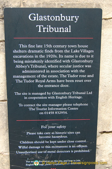 About the Glastonbury Tribunal