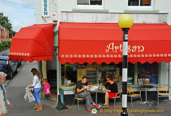 Artisan - a Glastonbury cafe