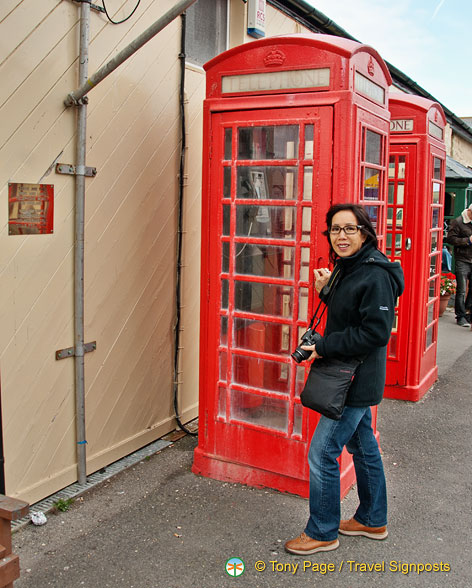 The first and last telephone boxes in England
