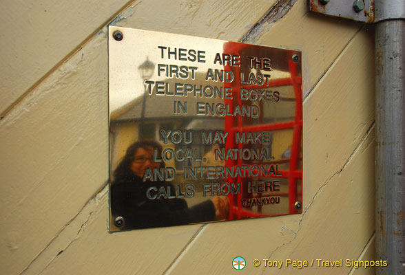 About the red phone boxes