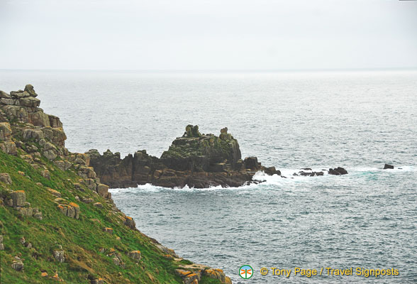Land's End's stunning scenery
