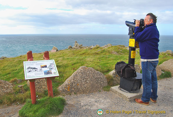 Checking out the landscape of Land's End