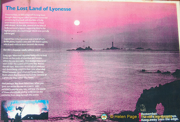 Information about the Lost Land of Lyonesse