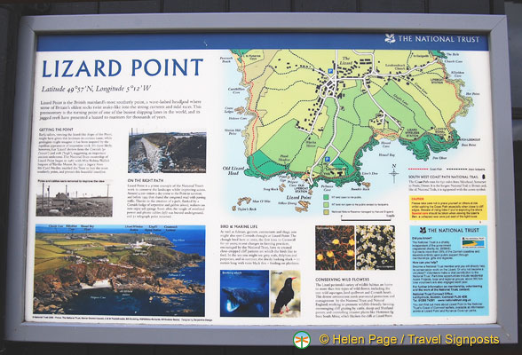 Lizard Point map