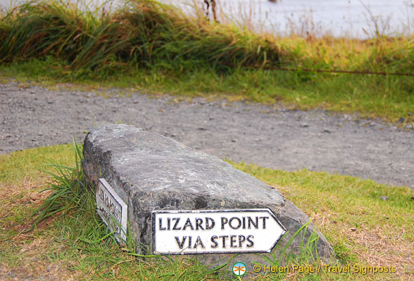 Steps to Lizard Point