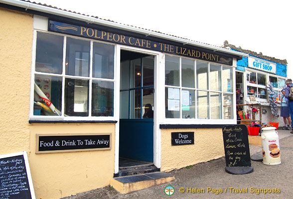 Polpeor Cafe at Lizard Point