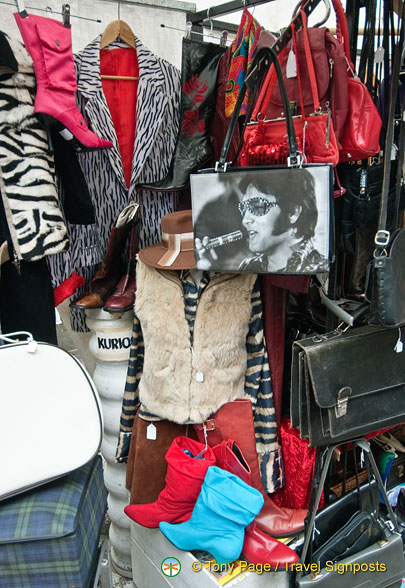 Camden Markets - Elvis accessories