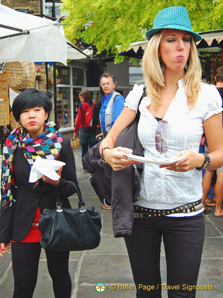 Camden Markets - All types at the markets