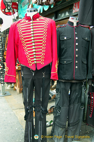 Camden Markets - The Military Look