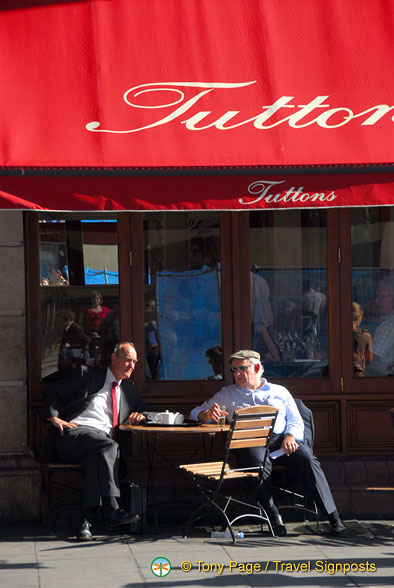 Tuttons Brasserie at 11-12 Russell Street