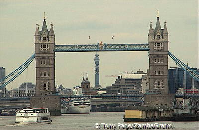 Tower Bridge and the Post Office Tower