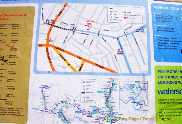 Map and towpath code