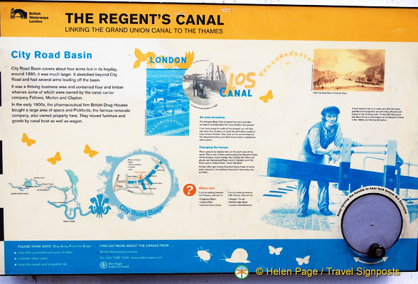 About the Regent's Canal