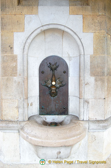 Clocktower fountain