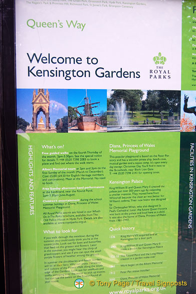 Welcome to Kensington Gardens