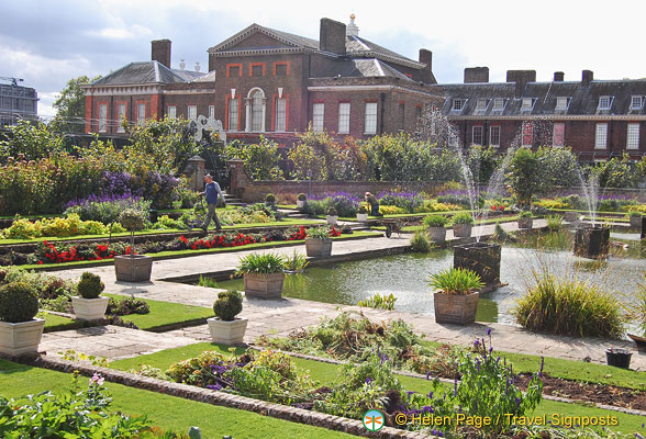 Kensington Palace - once home to Princess Diana