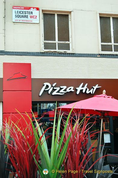 Pizza Hut at Leceister Square