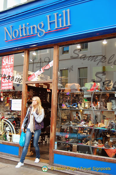 Notting Hill shop