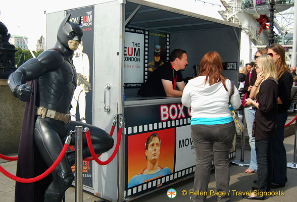 Batman at the Moveum