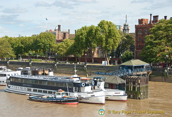 Thames Cruise stop