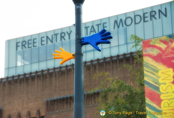 Entry to Tate Modern is Free
