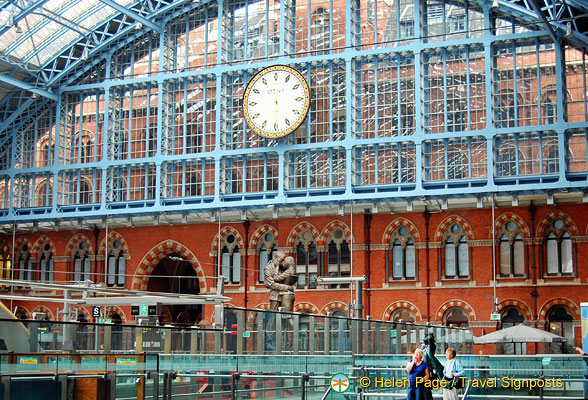 St Pancras International Clock