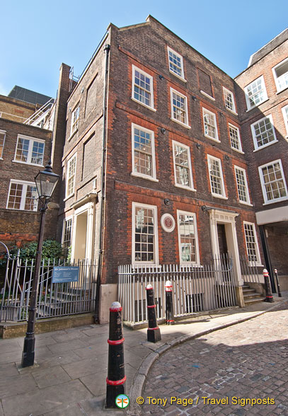 Dr. Samuel Johnson's House