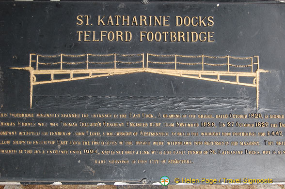 About the Telford Footbridge