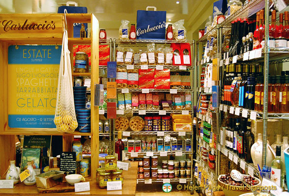 Nice groceries at Carluccio's