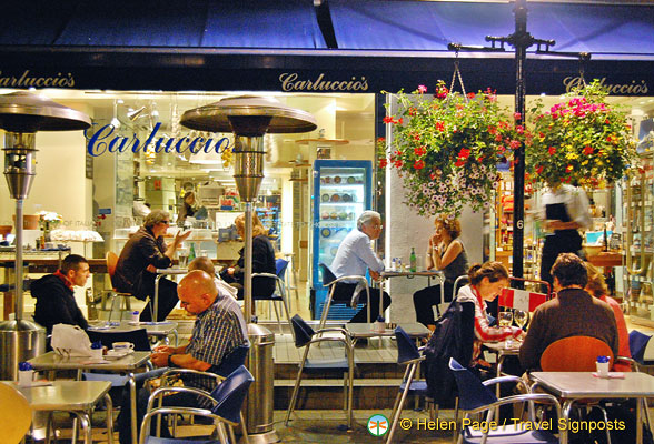 Carluccio's - one of our favourites in St. Christopher's Place