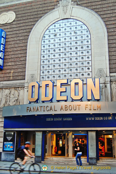 Odeon cinema at 135 Shaftesbury Avenue