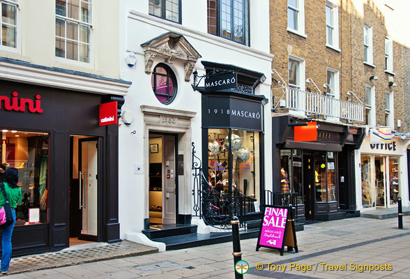 South Molton Street shops