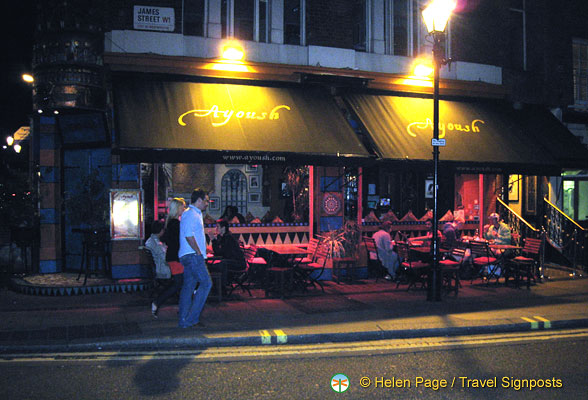 Ayoush - an Egyptian restaurant in James Street