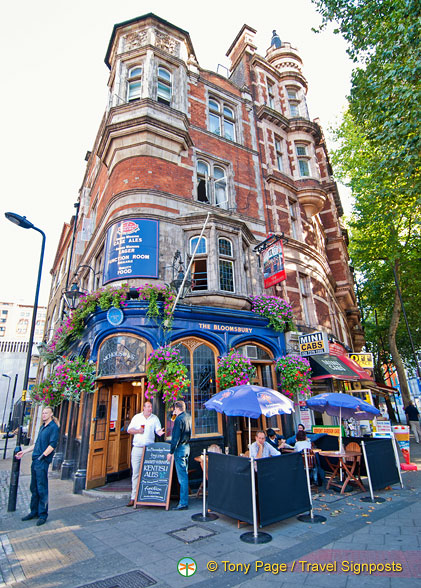 The Bloomsbury Tavern at 236 Shaftesbury Avenue