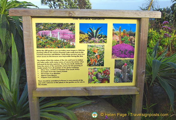 About the Minack Gardens