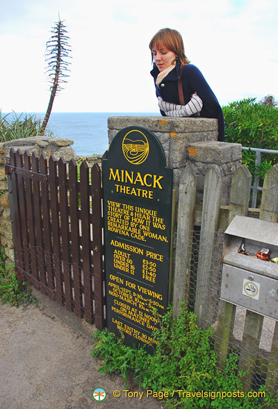 Minack Theatre entrance