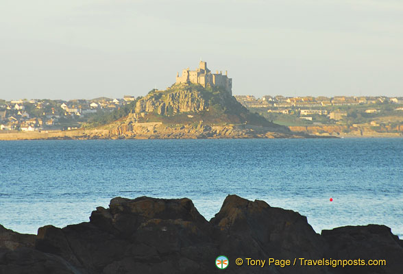 Looking at St Michael's Mount