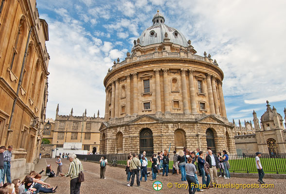Radcliffe Camera - a part of the Bodleian Library