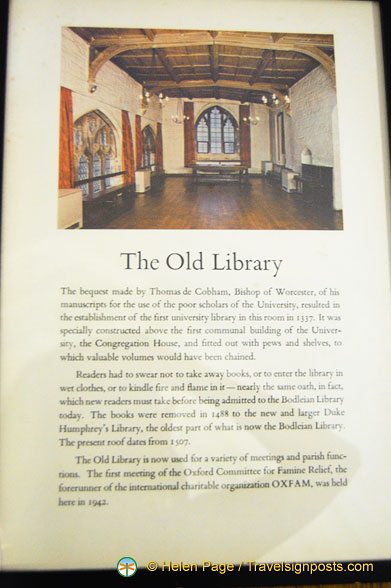 About the Old Library