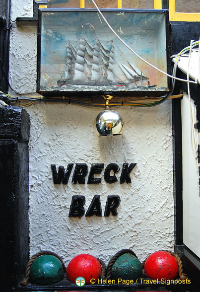 The Wreck Bar at Admiral Benbow