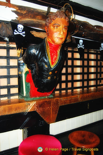 A male figurehead