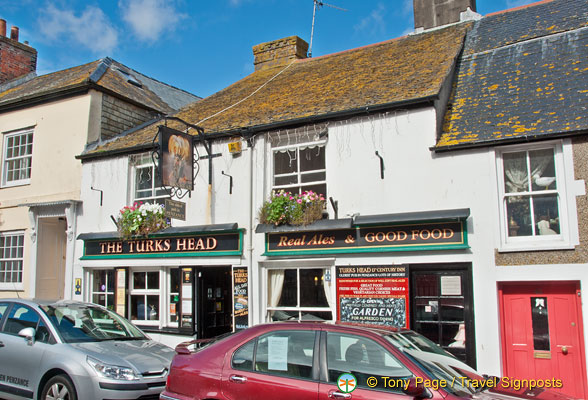 The Turks Head  - believed to be the oldest pub in Penzance